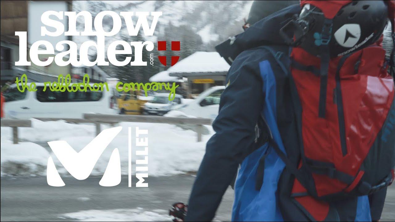 SNOWLEADER X MILLET | CHAMONIX SKITOUR EXPERIENCE