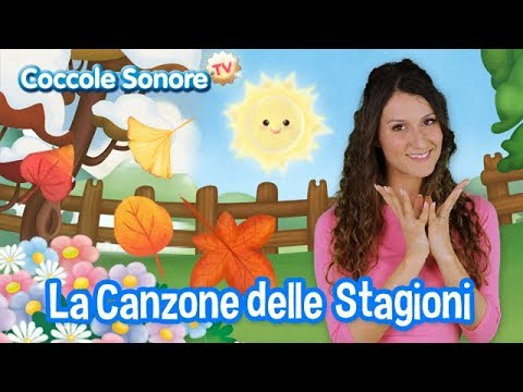 Canzone delle stagioni - Dance with Greta - Italian Songs for Children by Coccole Sonore