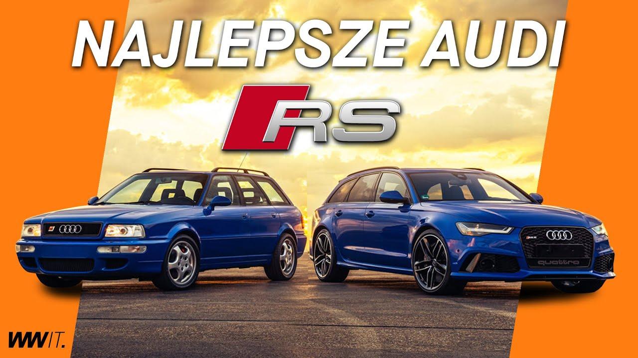 10 Najlepszych Audi RS w historii