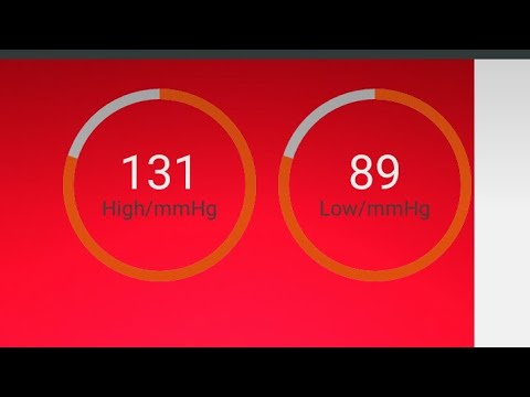 How To Check Blood Pressure Through Mobile App- Hindi Tutorial ,icare Health Monitor