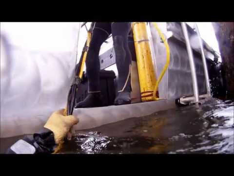 Underwater Bridge Inspection Using HD Sonar & Commercial Divers