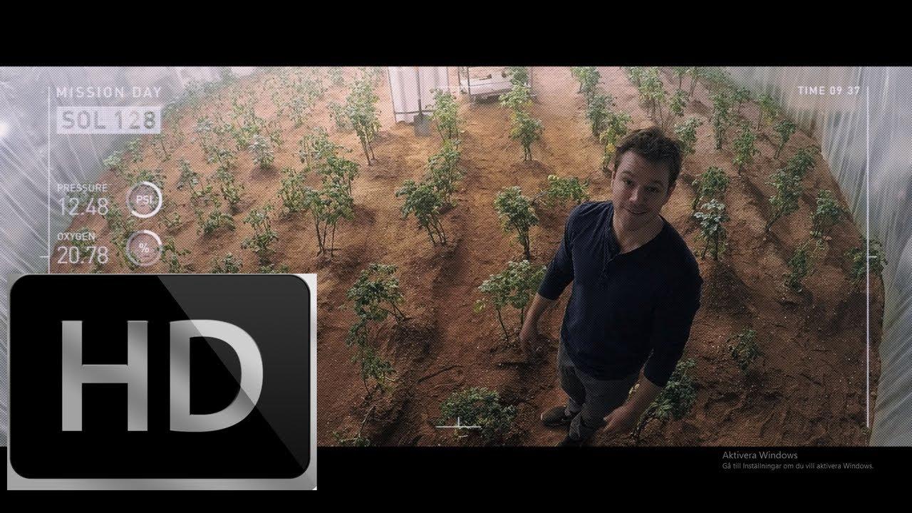 Download THE MARTIAN Clip - Planting Potatoes (2015) Matt Damon