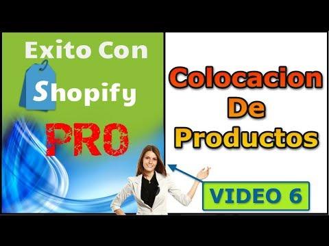Como Colocar Productos Dentro De Shopify Bien Explicado - Video 6