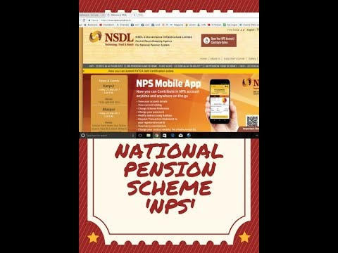 National Pension Scheme - Tamil