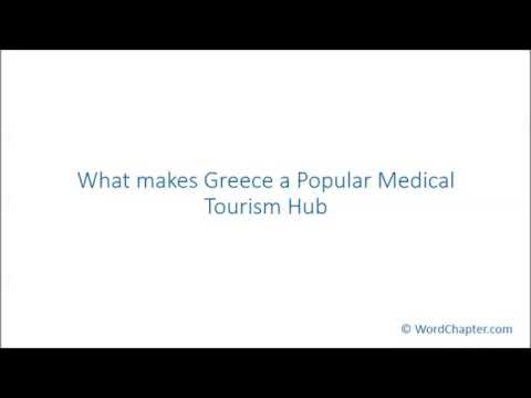 What makes Greece a Popular Medical Tourism Hub