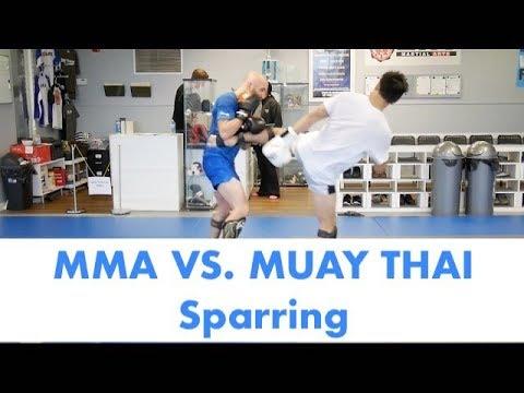 MMA vs. Muay Thai Sparring Breakdown