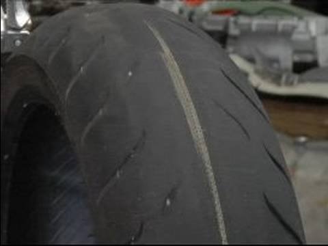 DIY Preventative Motorcycle Maintenance & Safety : Look for Tire ...