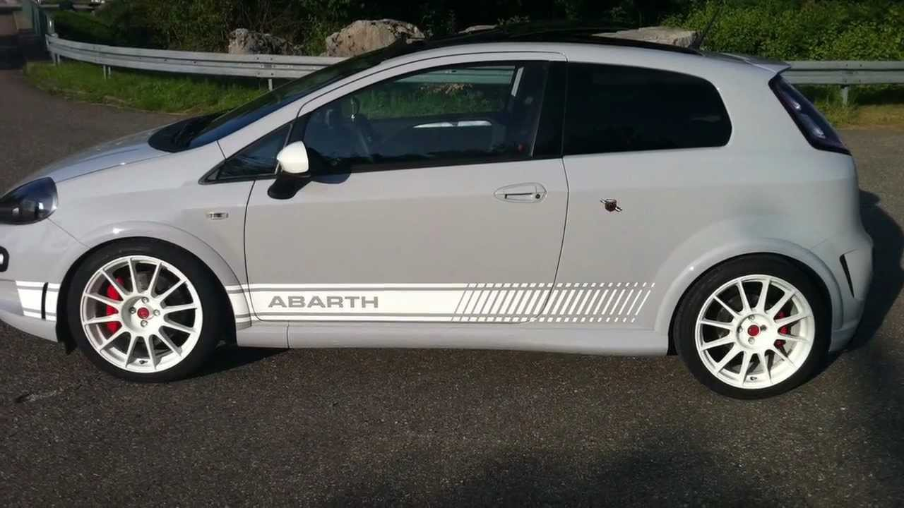 abarth punto evo esseesse kit 2011 youtube. Black Bedroom Furniture Sets. Home Design Ideas
