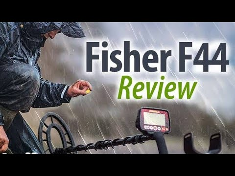 FISHER F 44 METAL DETECTOR REVIEW IN HINDI