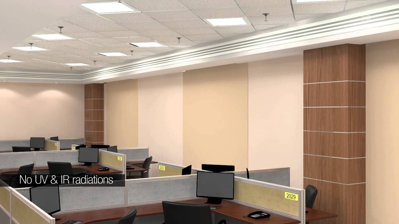 & HAVELLS LED LIGHTING FOR OFFICES - YouTube azcodes.com