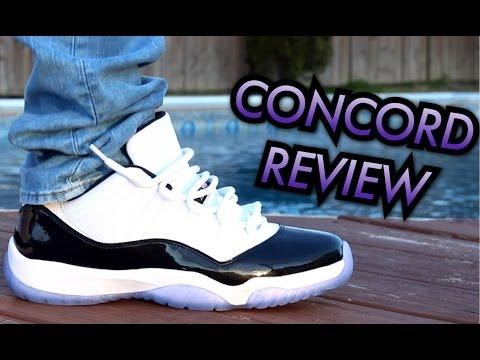 Concord Air Jordan 11 Low W OnFeet Review