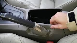 Как снять кожух с ручника. Volvo s60.  Стёртая кожа на ручнике