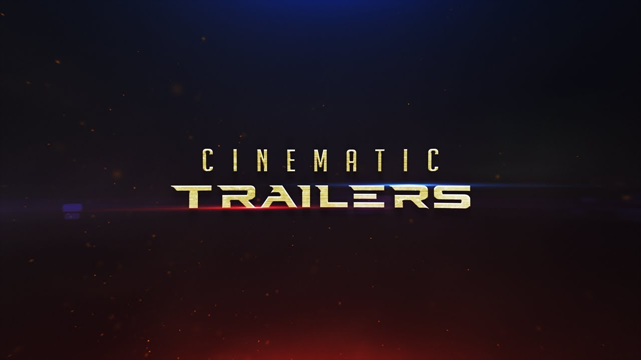 After effects tutorial: cinematic light leaks titles end result.