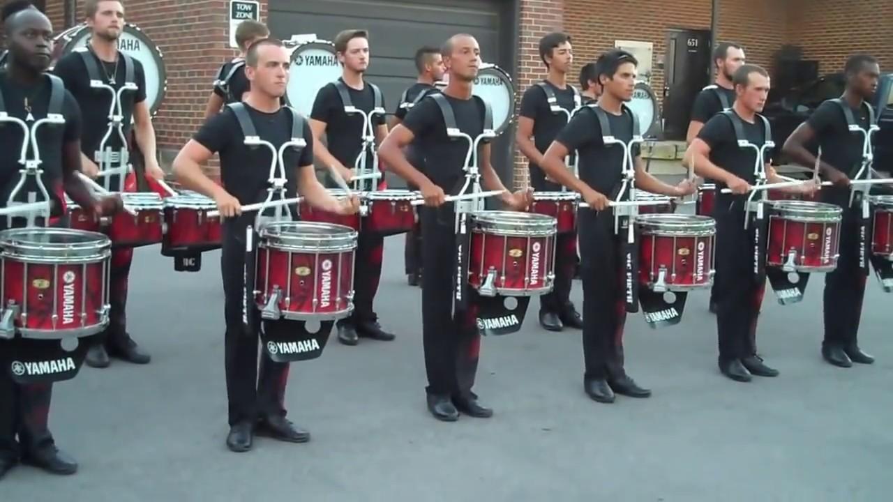 Carolina Crown Drumline 2015 - YouTube