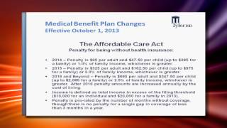 Employee Health Insurance Video for 2013-2014