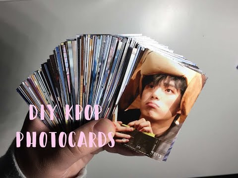 Diy Kpop Photocards ; 200 For Under $7