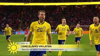 Här är nya VM-låten! - Nyhetsmorgon (TV4)