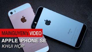 khui hop apple iphone se - su tro lai cua smartphone 4 inch