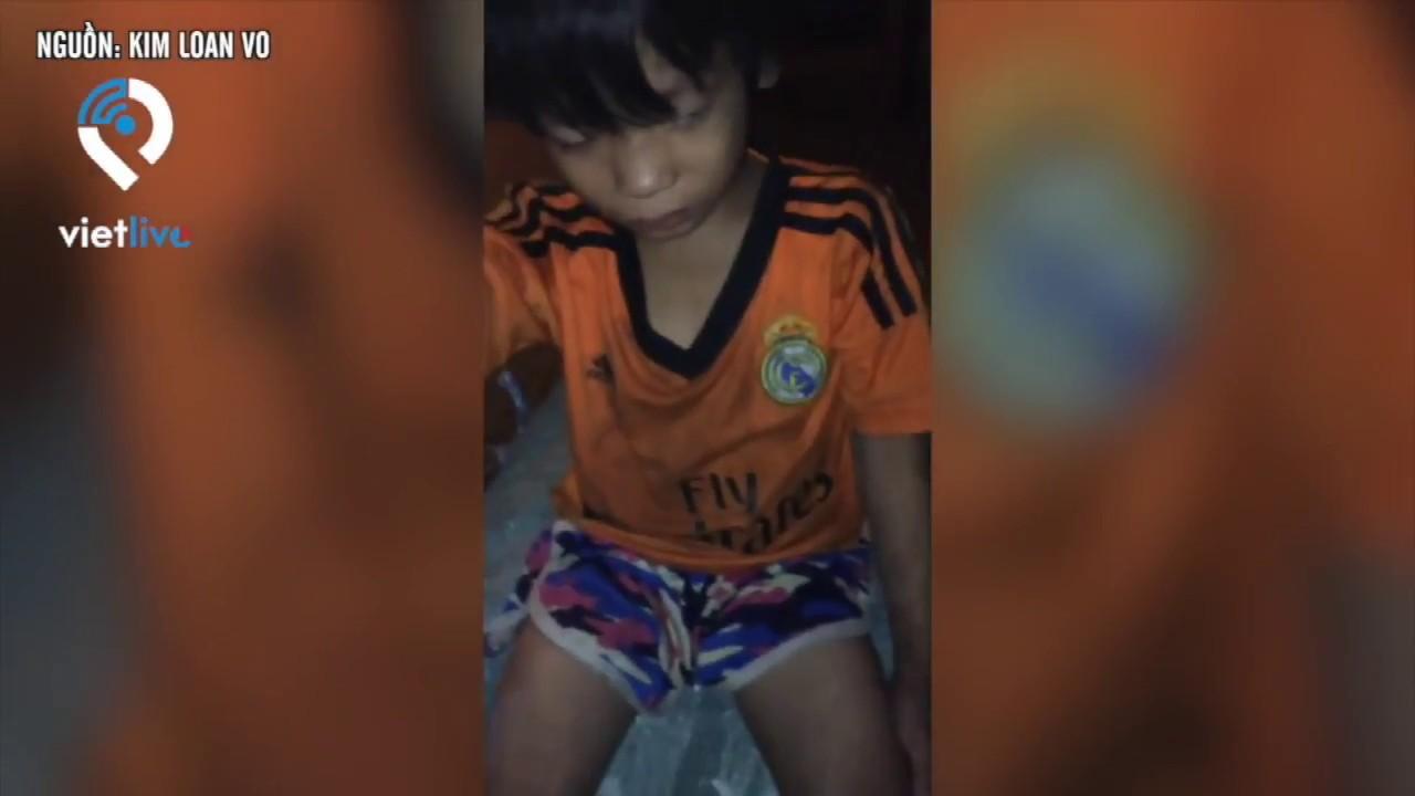 Trà Vinh: Xót xa hình ảnh bé trai 5 tuổi không dám về nhà vì chưa xin đủ 100 ngàn đồng