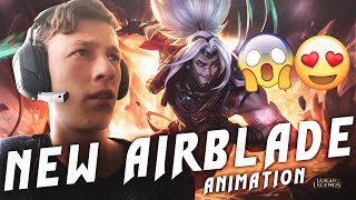 TheWanderingPro - NEW AIRBLADE ANIMATION!