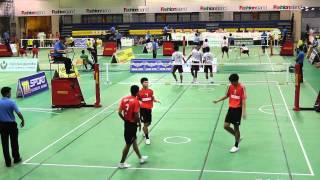 Repeat youtube video Sepak Takraw Princess Cup 2012 - Marathon vs. Sisaket