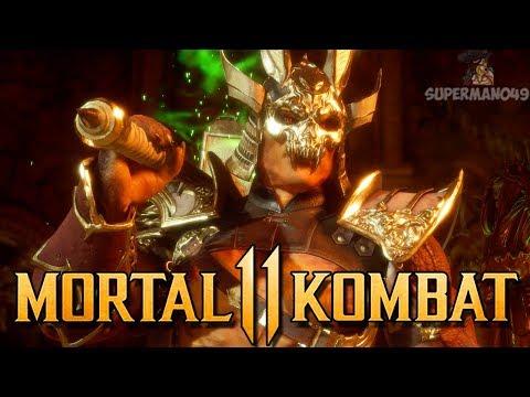 """Shao Kahn Making People Quit! - Mortal Kombat 11: """"Shao Kahn"""" Gameplay"""