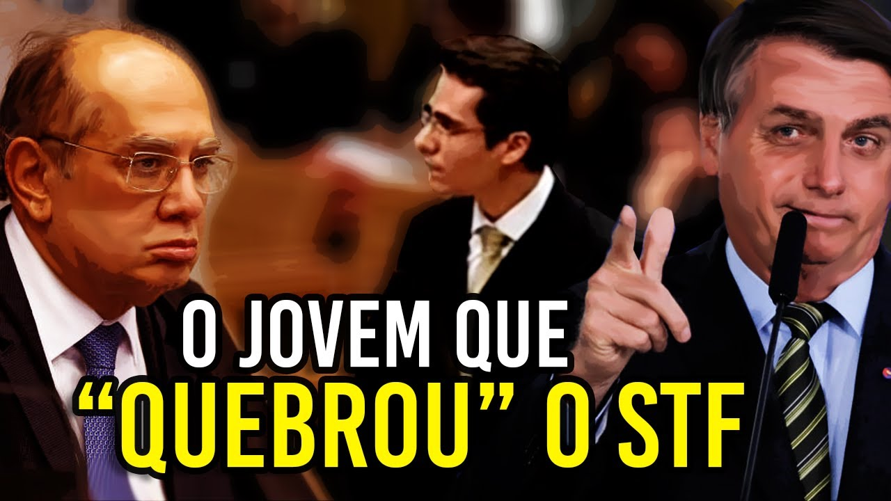 """VOTO IMPRESSO: O JOVEM que """"QUEBROU"""" o STF"""