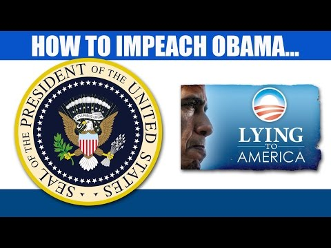 How To Impeach Obama