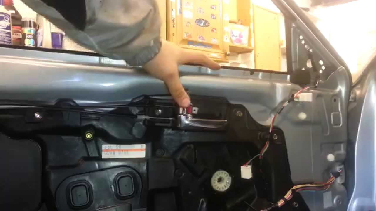 Awesome How To Change Replace Interior Door Handle Mazda 6