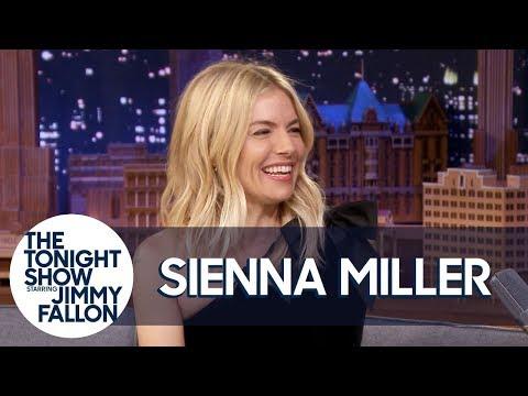 Sienna Miller Schools Jimmy on Philadelphia Accents