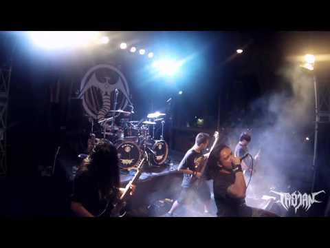 TROJAN DEATH BALI live launching 2nd album ( cerebral annihilation )