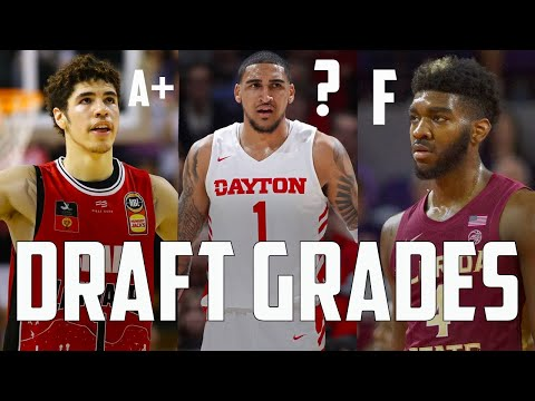 Grading EVERY Pick Made In The Top 10 Of The 2020 NBA Draft...