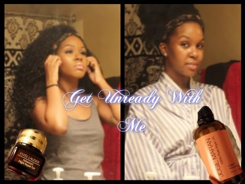 Get Unready With Me (Kendra's) Night Time Skincare Routine