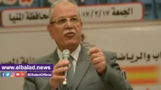 محافظ المنيا يستمع للشباب حول دورهم في بناء مستقبل مصر ..فيديو وصور
