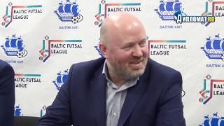 В Петербурге рассказали про создание уникальной международной футзальной лиги Baltic Futsal League