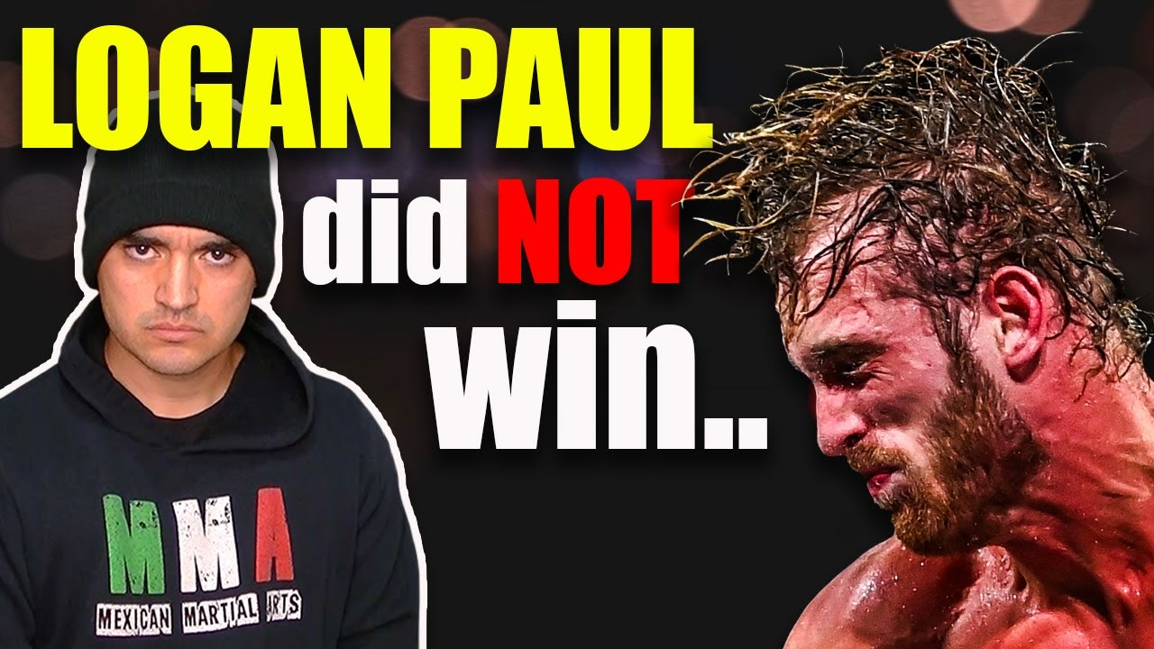 Logan Paul did NOT beat Floyd Mayweather