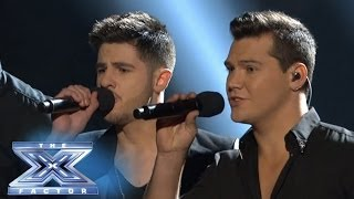 "Jeff Gutt and Restless Road Perform ""Every Breath You Take"" Together - THE X FACTOR USA 2013"