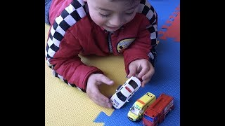 Sam Unboxed His New Emergency Vehicles for kids - Police Car, St John Ambulance & Fire Truck Toys NZ