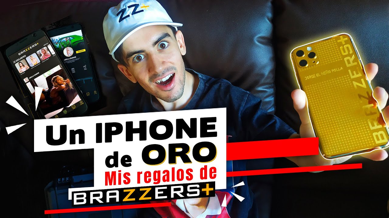 ¡¡Me regalan un IPHONE DE ORO DE 24K!! HA LLEGADO ZZ +. Unboxing muy especial