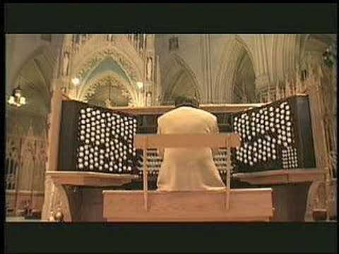 Widor Toccata at Cathedral Basilica in Newark