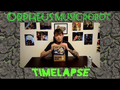 Orpheus The Saddest Robot Music Box Kit Timelapse Build Speed Build - Thinkgeek / Gamestop Exclusive