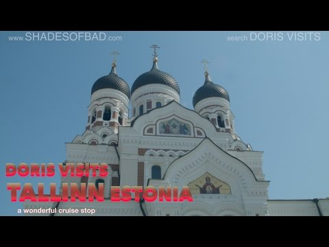 Tallinn in Estonia walking guide. Jean for Doris Visits on a Baltic Cruise