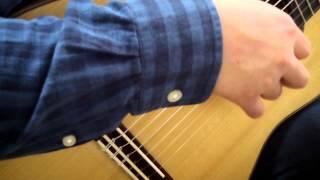Sunflower, classic guitar (practice)