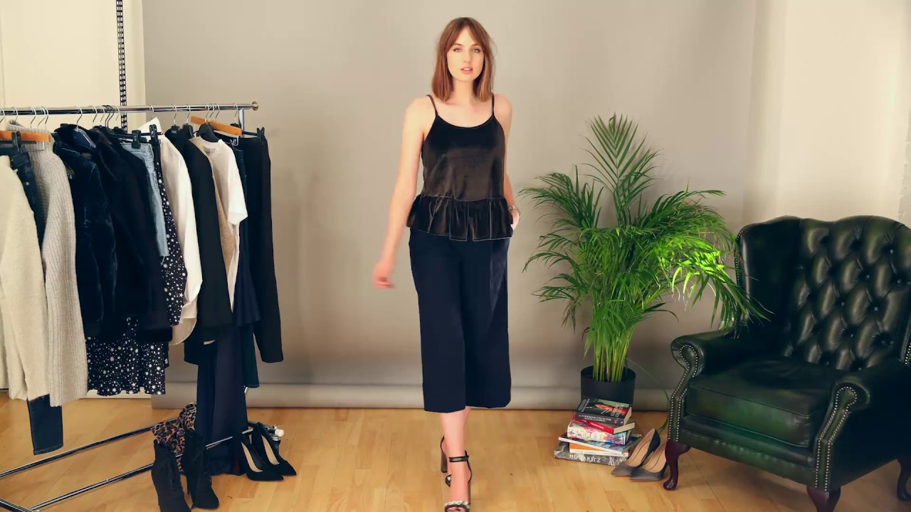 c53a1313ea7 How to wear culottes for work