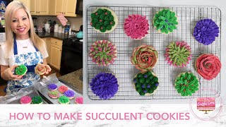 How to Make Succulent Cookies