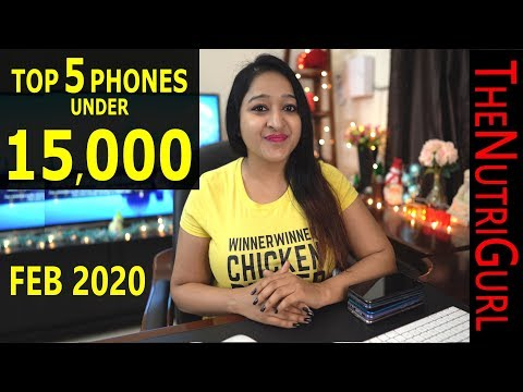 Top 5 Phones Under 15000 IN JANUARY 2020