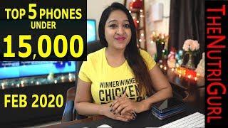 Top 5 Phones Under 15000 IN JANUARY 2020