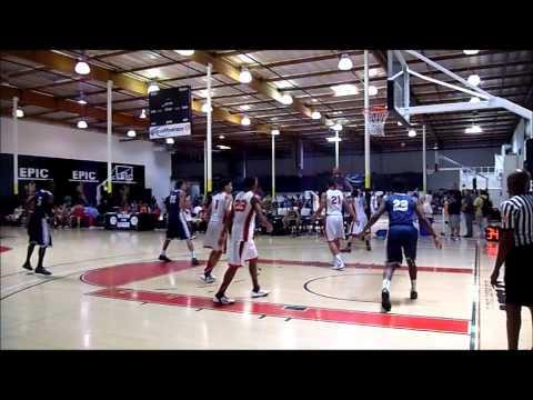 Oakland Soldiers VS Louisiana Select (Nike EYBL-LA 2011)::: GAME FOOTAGE