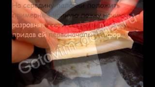 Холодные закуски рыбные:Крабовые палочки в пивном кляре