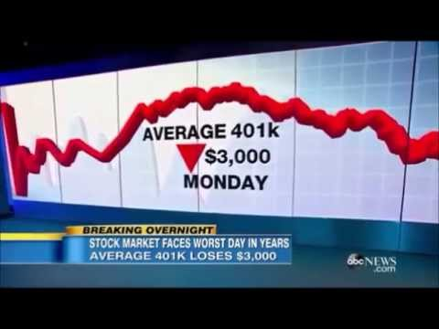 ABC7 News Average 401K Lost $3,000 This Week Alone